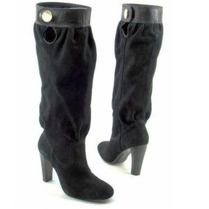 Michael Kors Suede Knee High Boots 9.5
